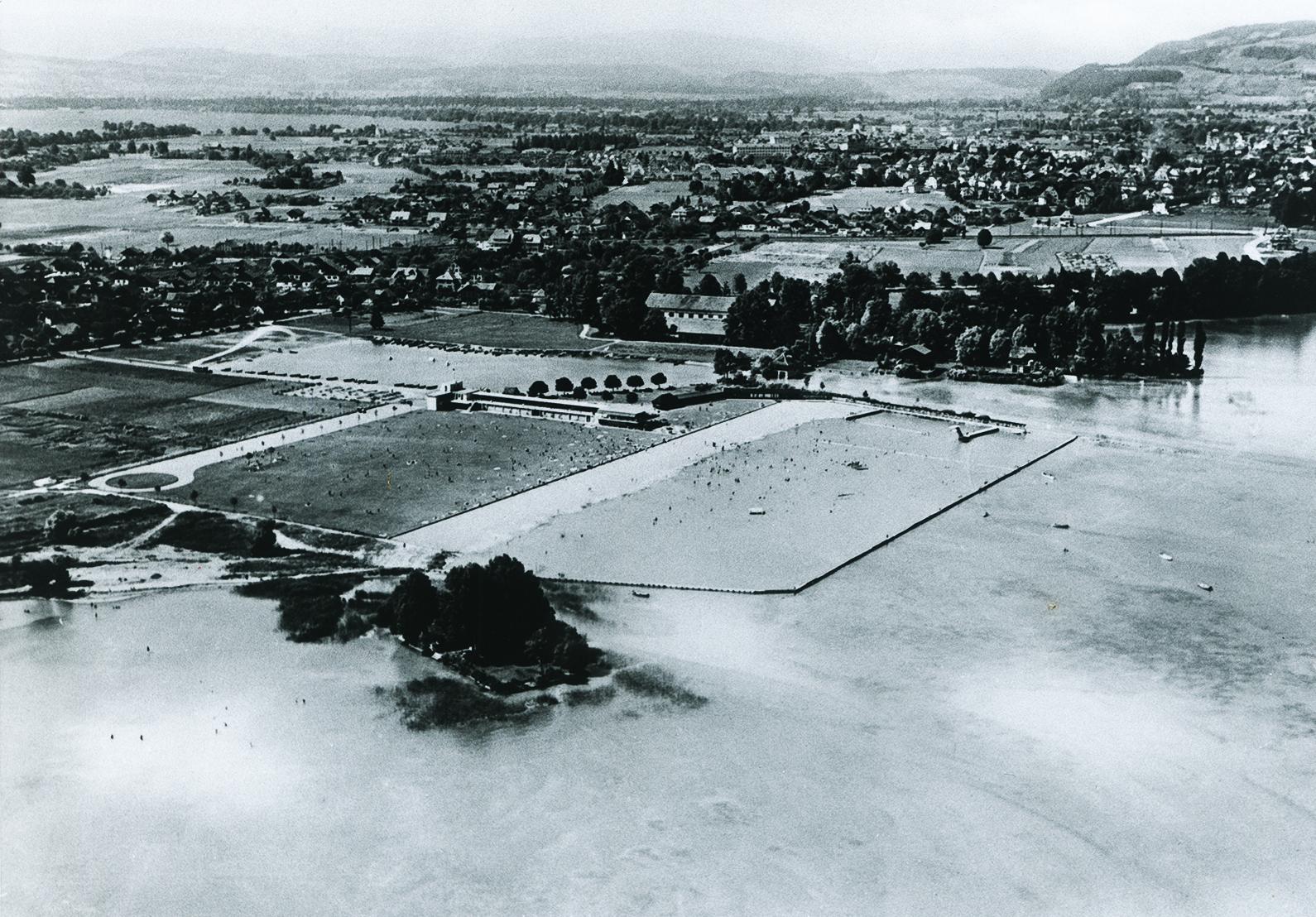 TCT Geschichte, Luftaufnahme 50er Jahre